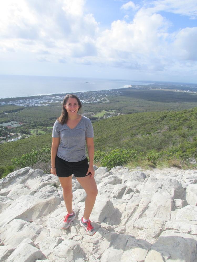 I climbed Mount Coolum!