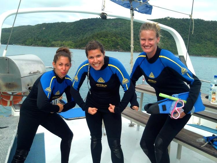 Anachonda's Sensational Snorkel Team